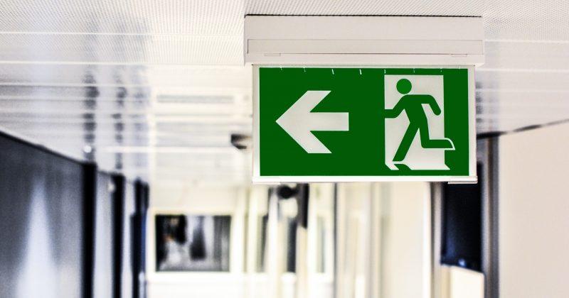 emergency exit lighting