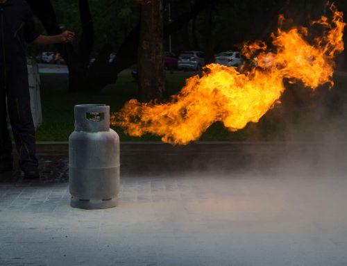 Class C Fire: Flammable Gasses